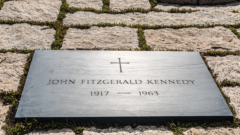 John F. Kennedy Eternal Flame - Fort Myer, VA - USA