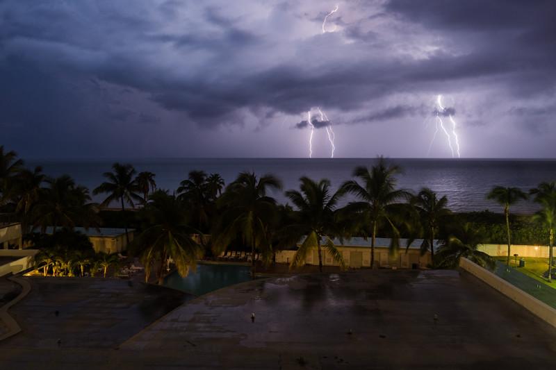 Blitz und Donner - Miami, FL - USA