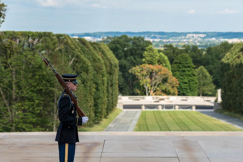 Grabmal des unbekannten Soldaten - Arlington, VA - USA