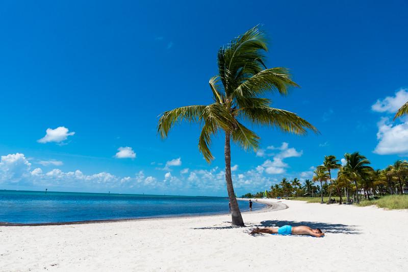 Smathers Beach - Key West, FL - USA