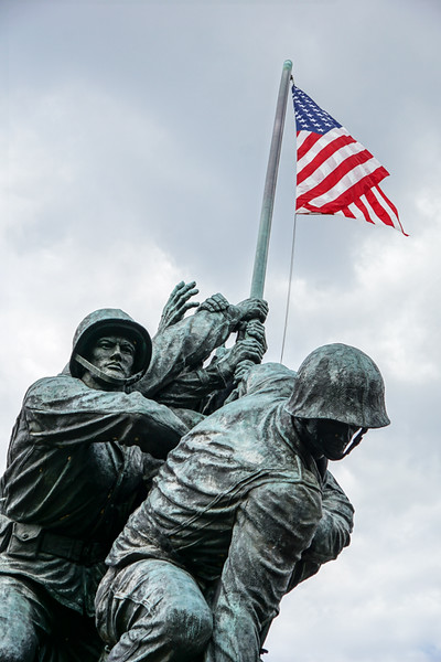 United States Marine Corps War Memorial - Rosslyn, VA - USA