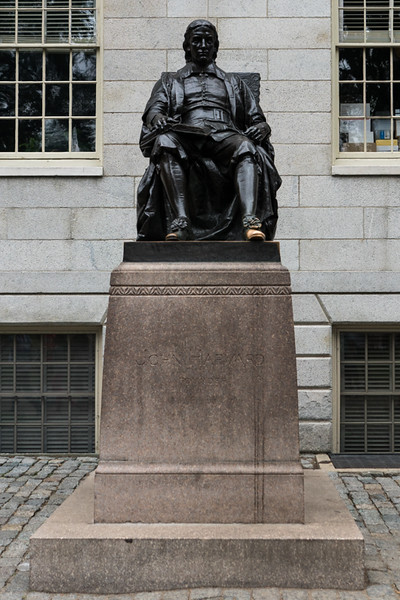 John Harvard Statue - Cambridge, MA - USA