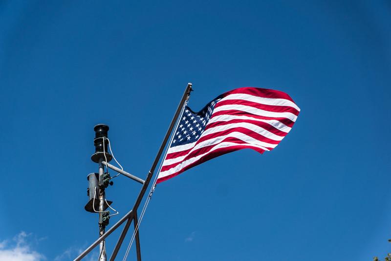 Nationalflagge der Vereinigte Staaten von Amerika