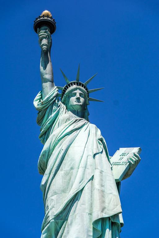 Die Freiheitsstatue - New York City, NY - USA