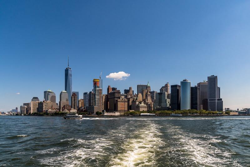 Skyline von Manhatten - New York City, NY - USA