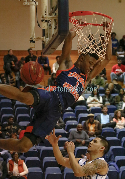 Lincoln vs Chowan Basketball 1 26 17