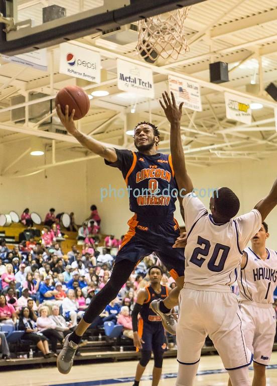 Lincoln vs Chowan Basketball 2 22 18