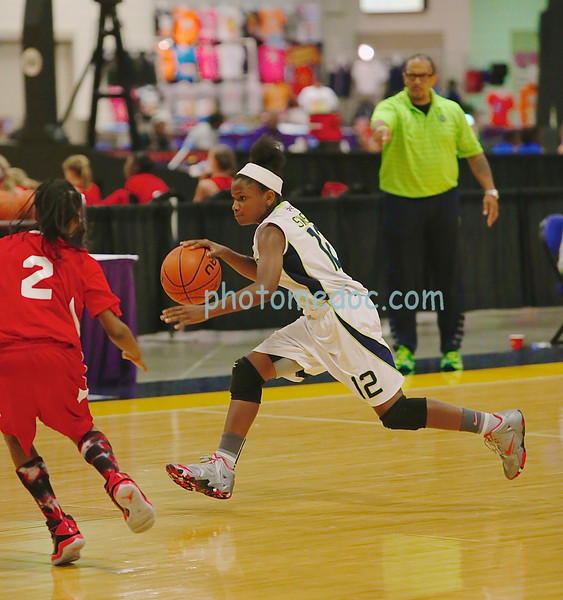 AAU  Girls  Basketball  National Championship  6 22 14