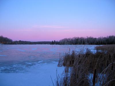 Pastel Winter Sunset