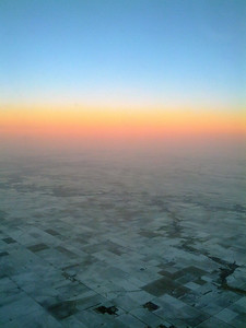 Frozen Fields from the Skies