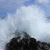 Out of focus wave at Ka Lae