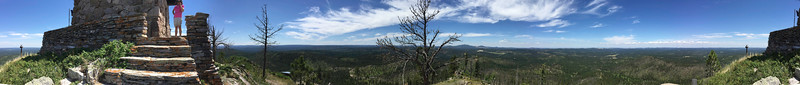 Black Hills Firewatch Panorama