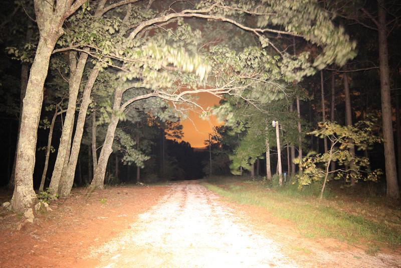 Gravel Road Nightscape