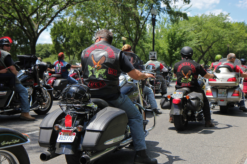 Rolling Thunder Motorcycle Rally, May 25, 2014