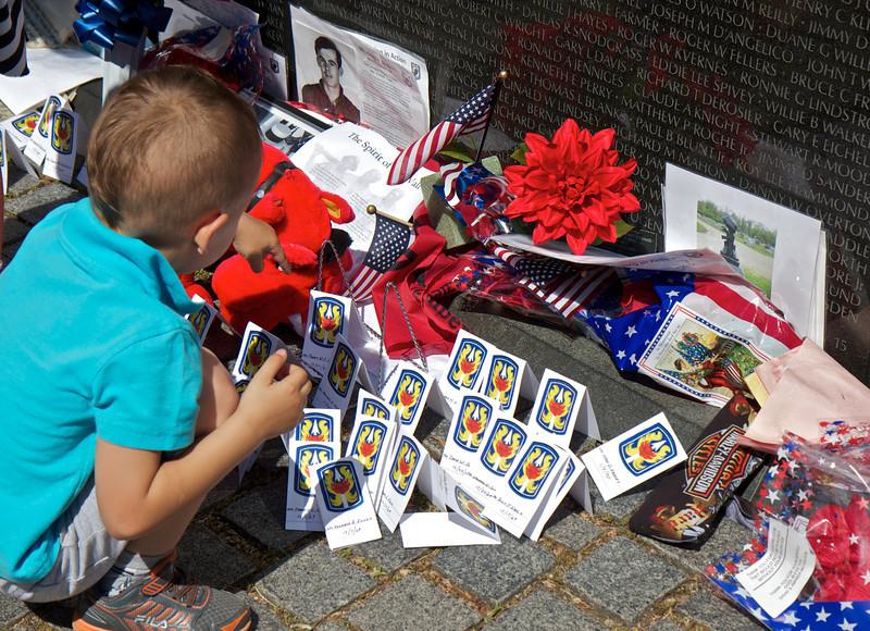 Vietnam Veterans Memorial, Washington, D.C., May 25, 2014