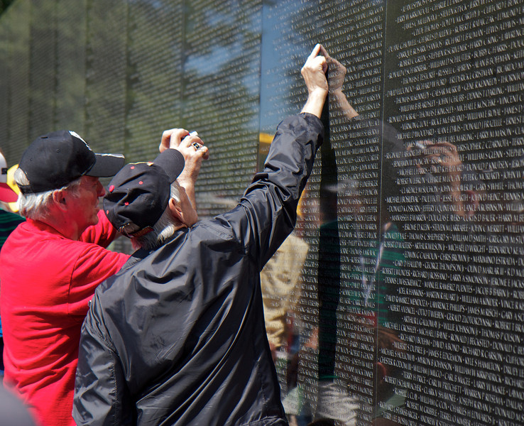 Vietnam Veterans Memorial, Washington, D.C., May 25, 2014