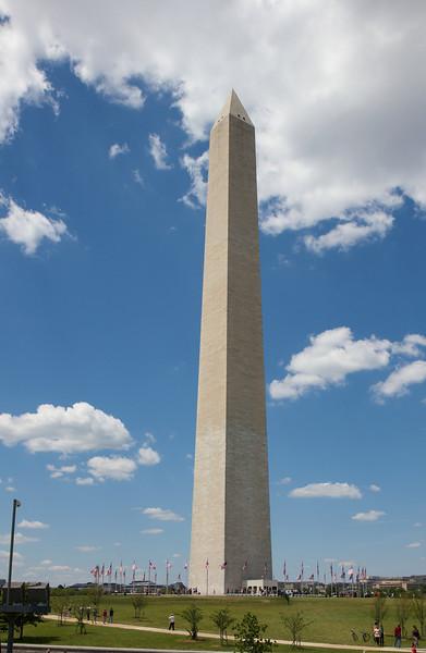 Washington Monument, May 25, 2014