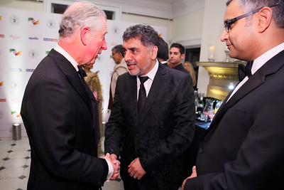 British Asian Trust Dinner. Banqueting House. White Hall Palace. Whitehall.  3rd February 2015  Photo: Zute Lightfoot