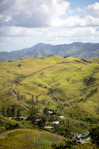 The village of Vanualevu