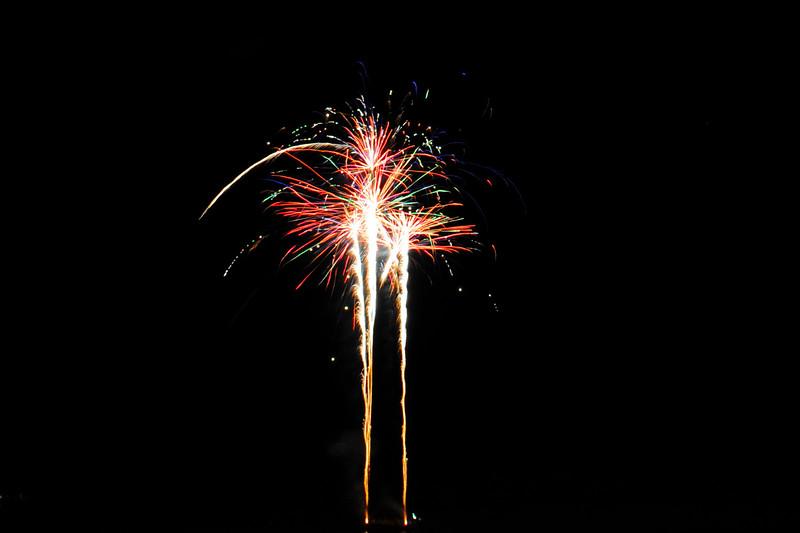 Renmark Xmas Fireworks 2011