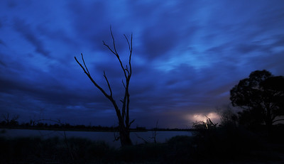 Storm arrives