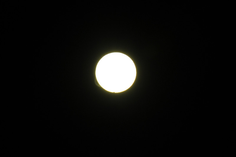 Venus transit of sun June 6 2012
