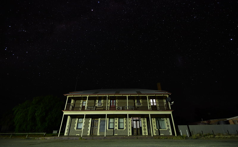 Mallee by night
