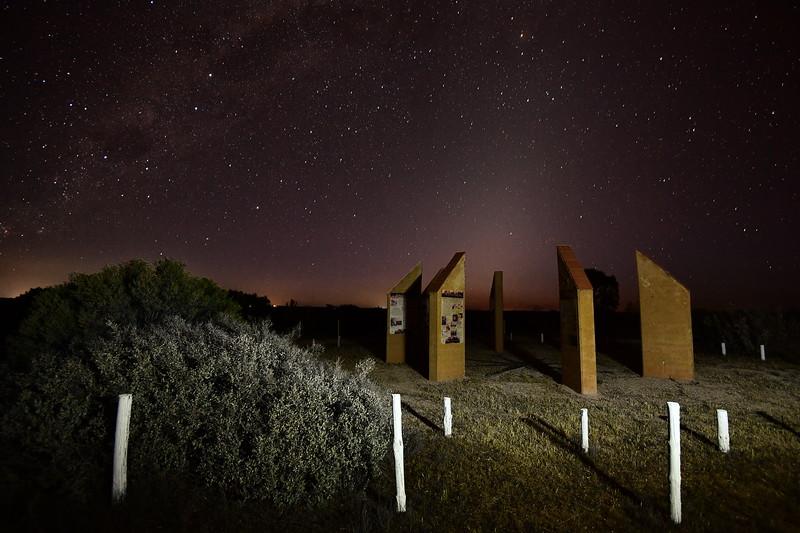 Milky Way over Calperum Station with Virgo