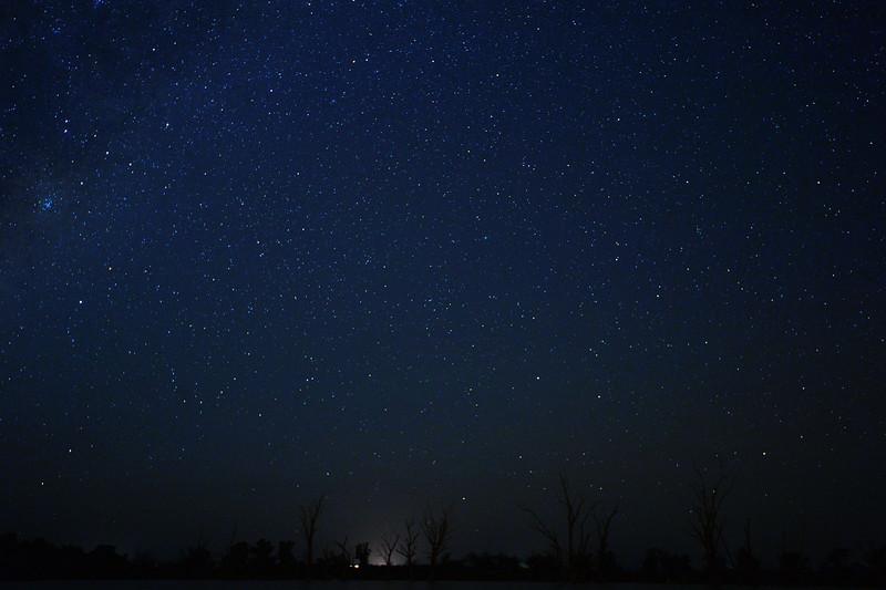 Milky Way over the Mundic