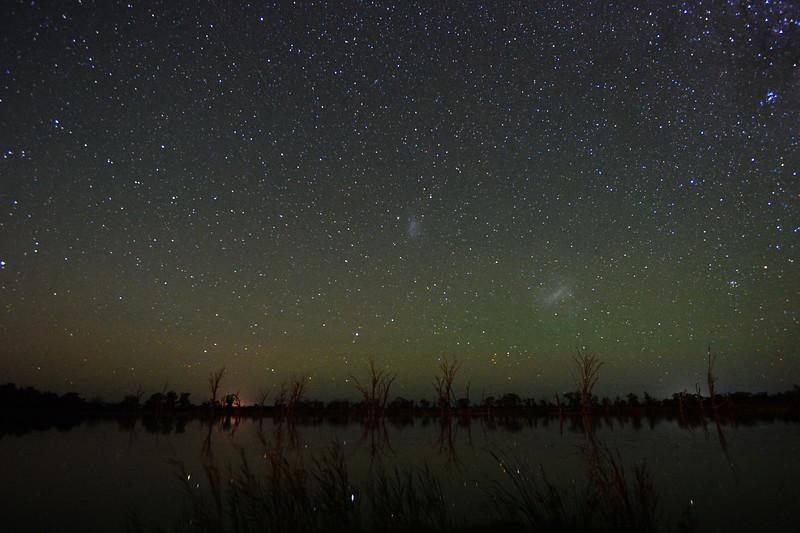 The Milky Way over Mundic Creek