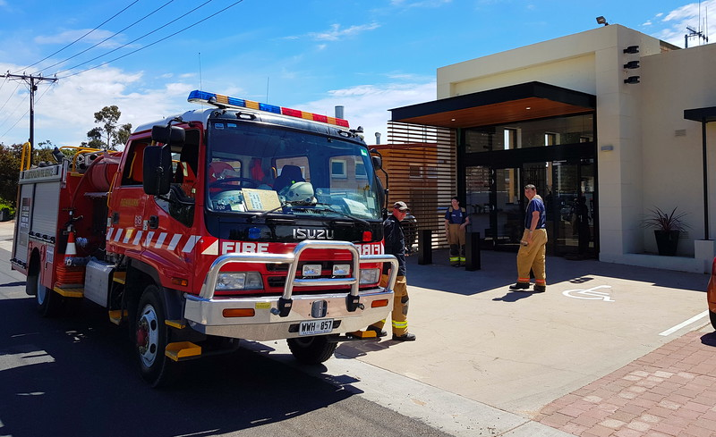 Firies at Arrosto Coffee House, Renmark