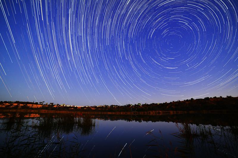Pike River star trail