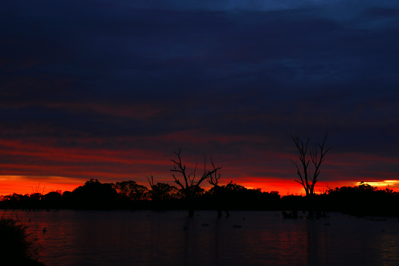 Sunrise over Jane Eliza