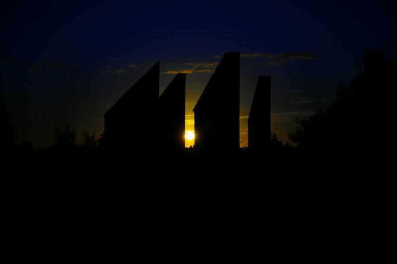 Sunset over Calperum