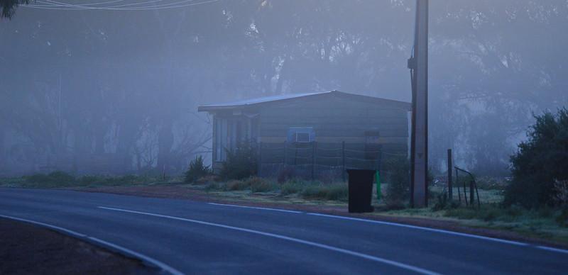 Morning fog at the Jane and Mundic Creek