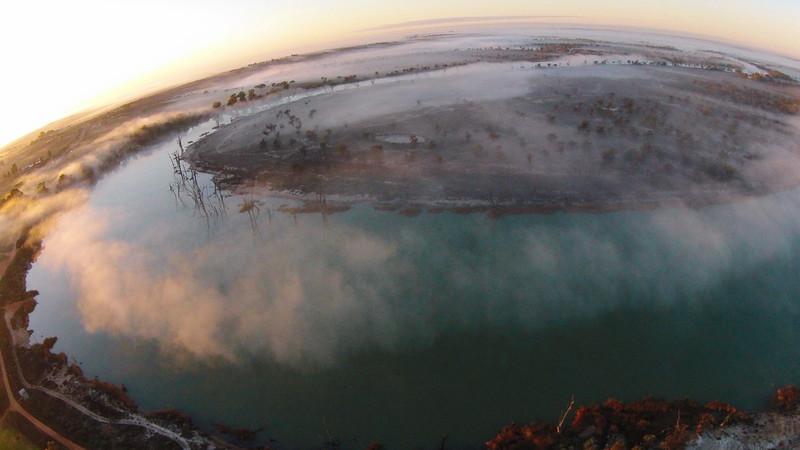 Morning fog over Paringa/Jane Eliza