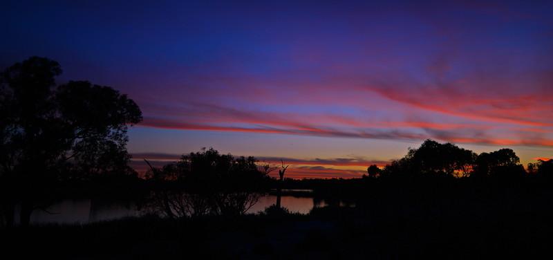 Mundic Creek at sundown