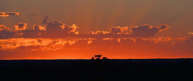 Sunset over Paringa