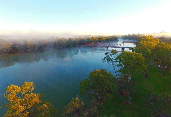 Fog over Paringa