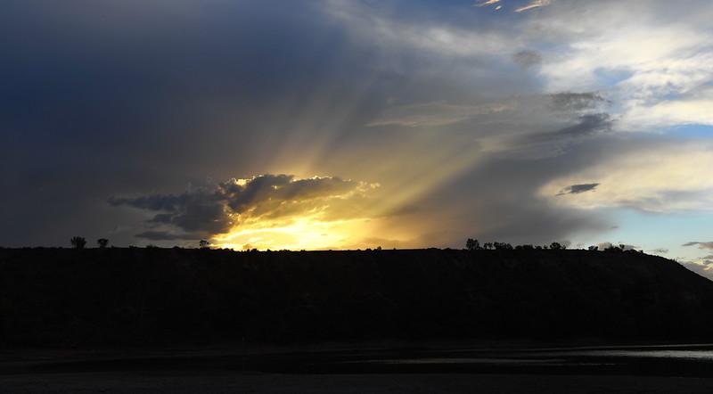 Pike Sunset