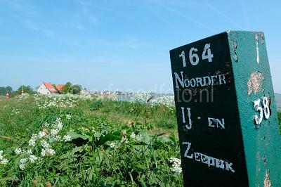 Durgerdam - Kilometerpaal