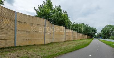 Hilversum Kerkelanden - Geluidscherm