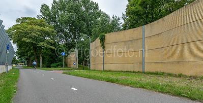 Hilversum Kerkelanden - Geluidsscherm