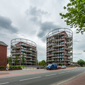 Hilversum - Appartementencomplex voorm. gasfabriek.