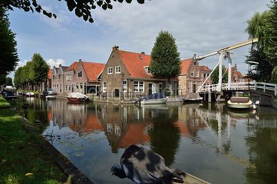 Monnickendam - Zonnepad, Fluwelen Burgwal
