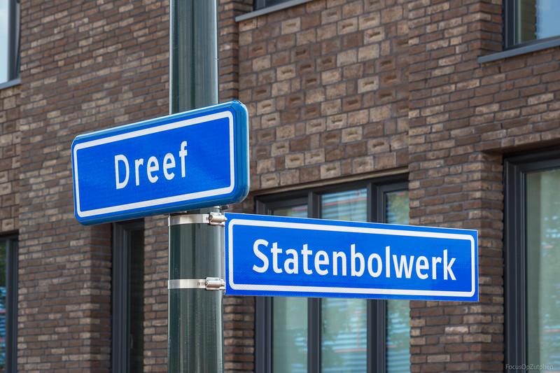 De straat heeft zijn naam