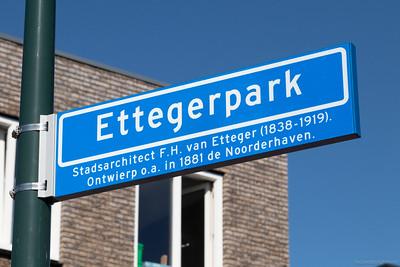 Nieuwe straat Ettegerpark