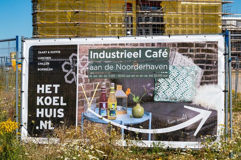 Industrieel Café aan de Noorderhaven