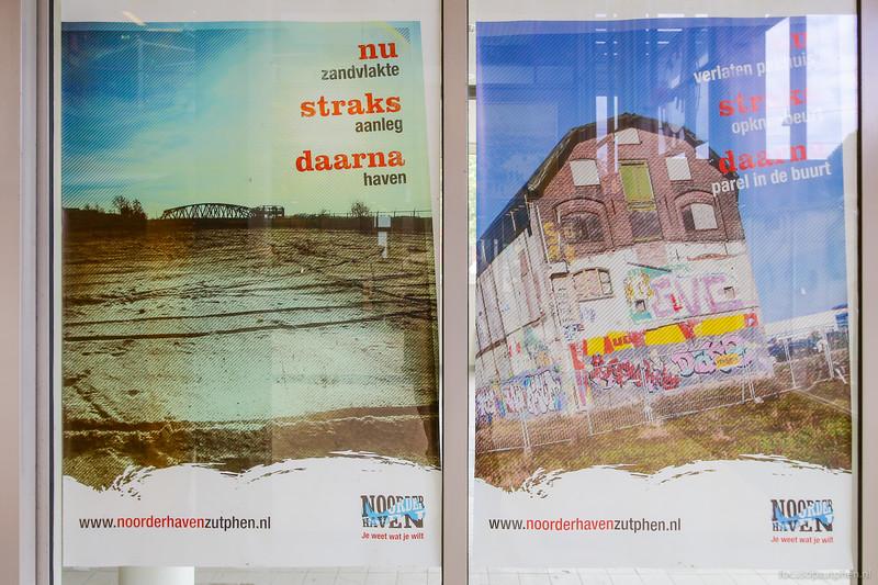 Poster nieuwe haven (links)