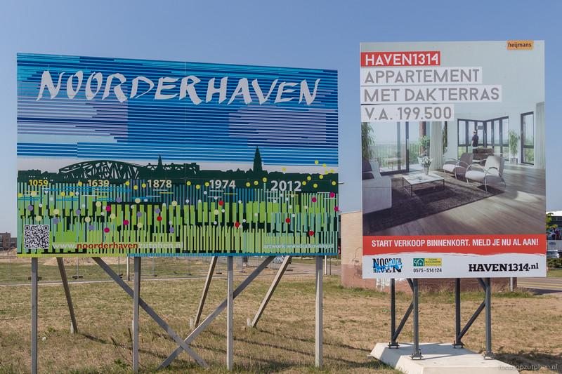 Informatieborden Noorderhaven